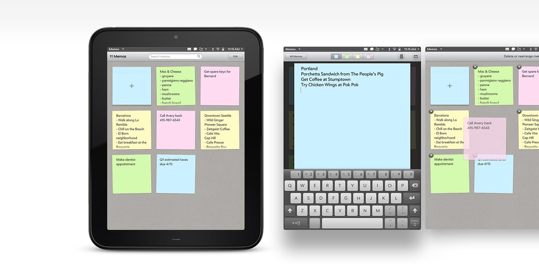 hp tablet resume